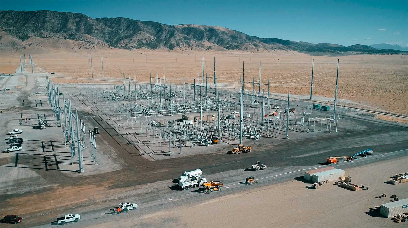 Eagle Mountain Utah Substation Project