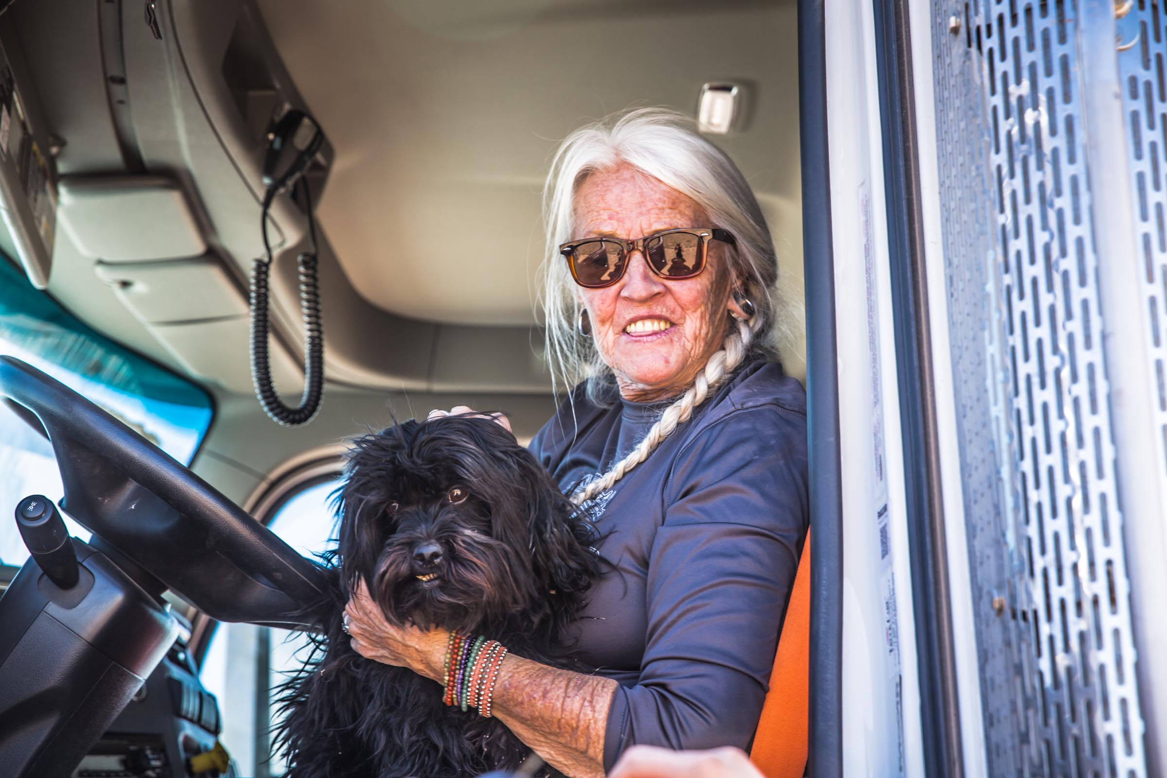 Women in Construction - Paula Engebritson - Truck Driver at Grade Tech
