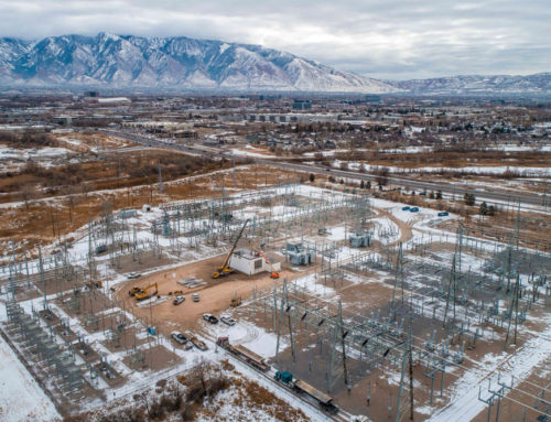 90th South Substation Removals in West Jordan, Utah