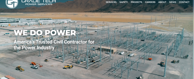 Grade Tech Power Services New Website