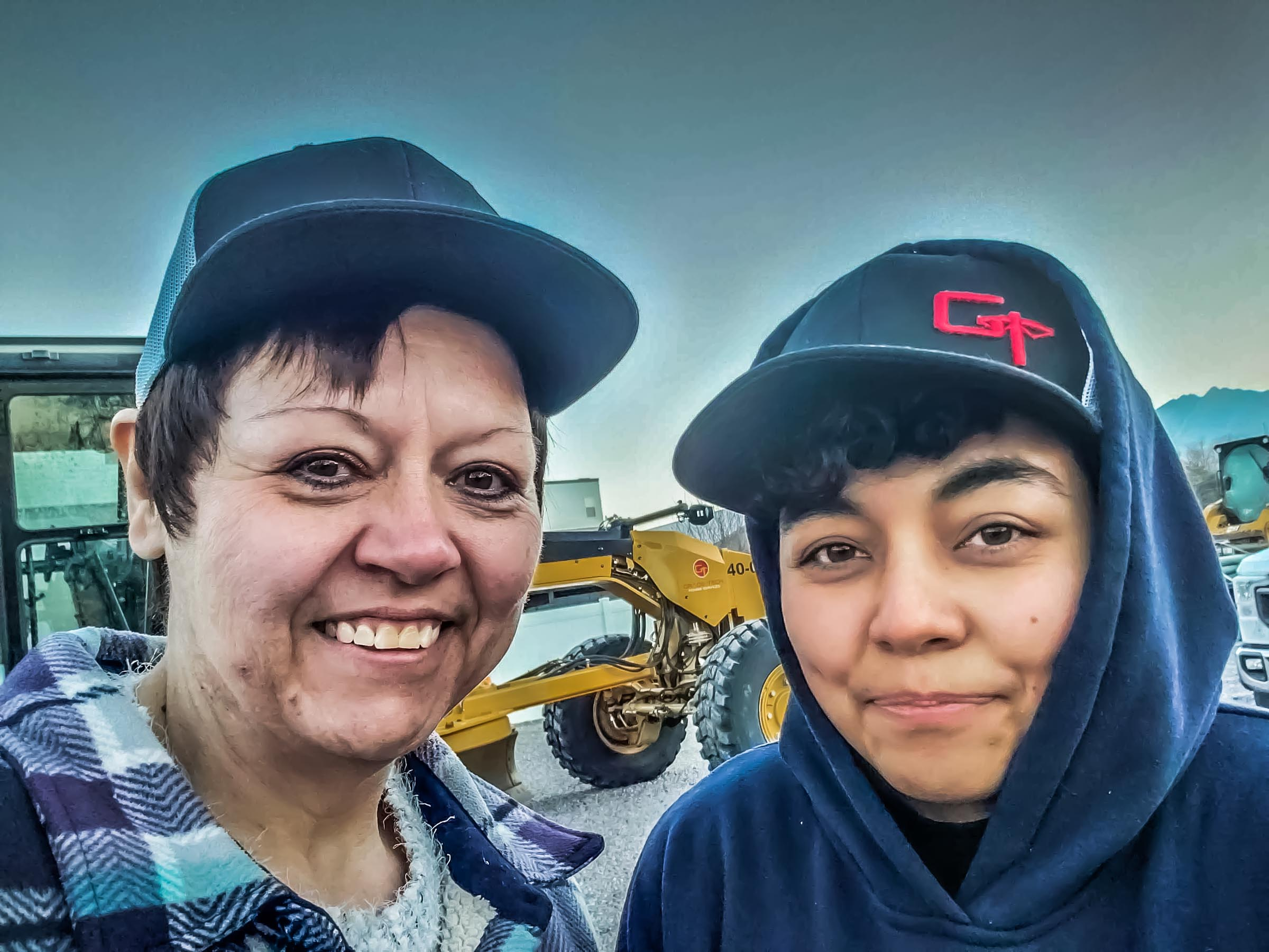 Women In Construction - Grade Tech - Mahala and Gabi